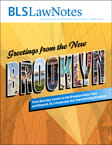 Brooklyn Law Notes Spring 2013