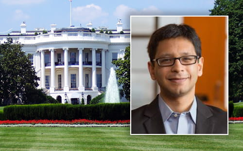 Sabeel Rachman by White House