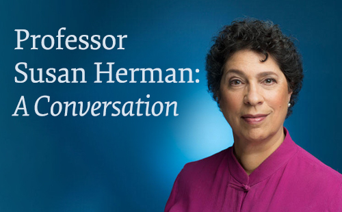 Susan Herman conversation